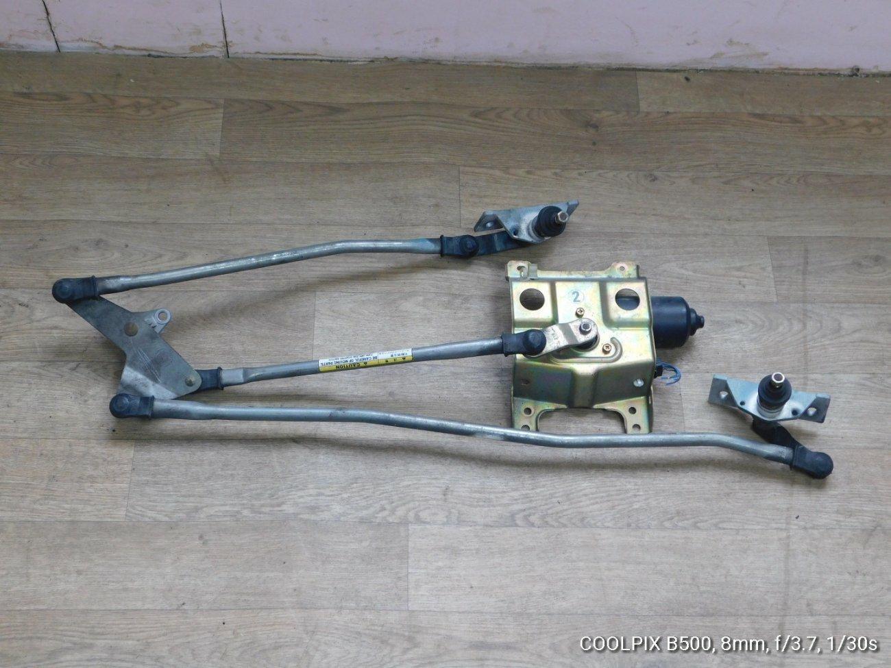 Мотор дворников Hino Ranger FC7 J07E передний (б/у)