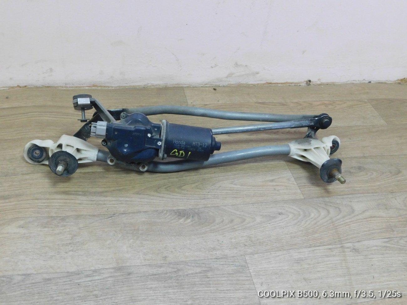 Мотор дворников Honda Fit GD1GD2GD3 L13A (б/у)