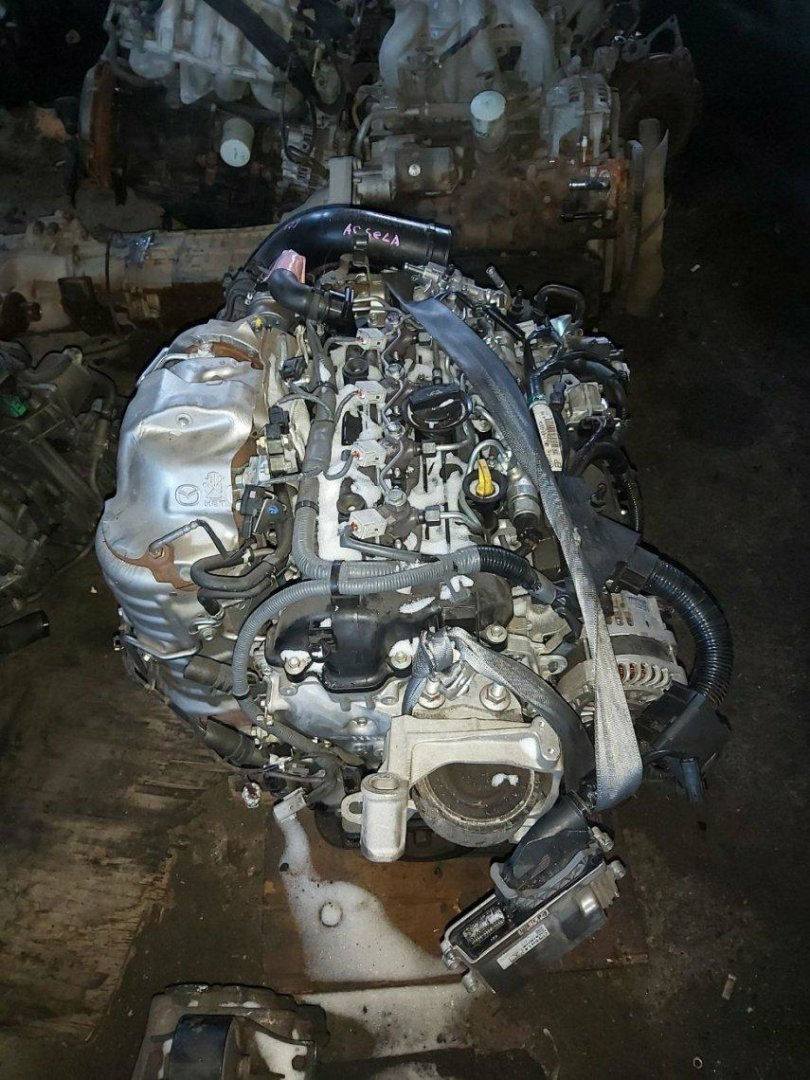 Двигатель Mazda Axela BM2FS SH (б/у)