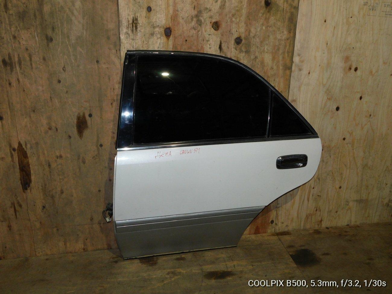 Дверь Toyota Crown GS171 задняя левая (б/у)