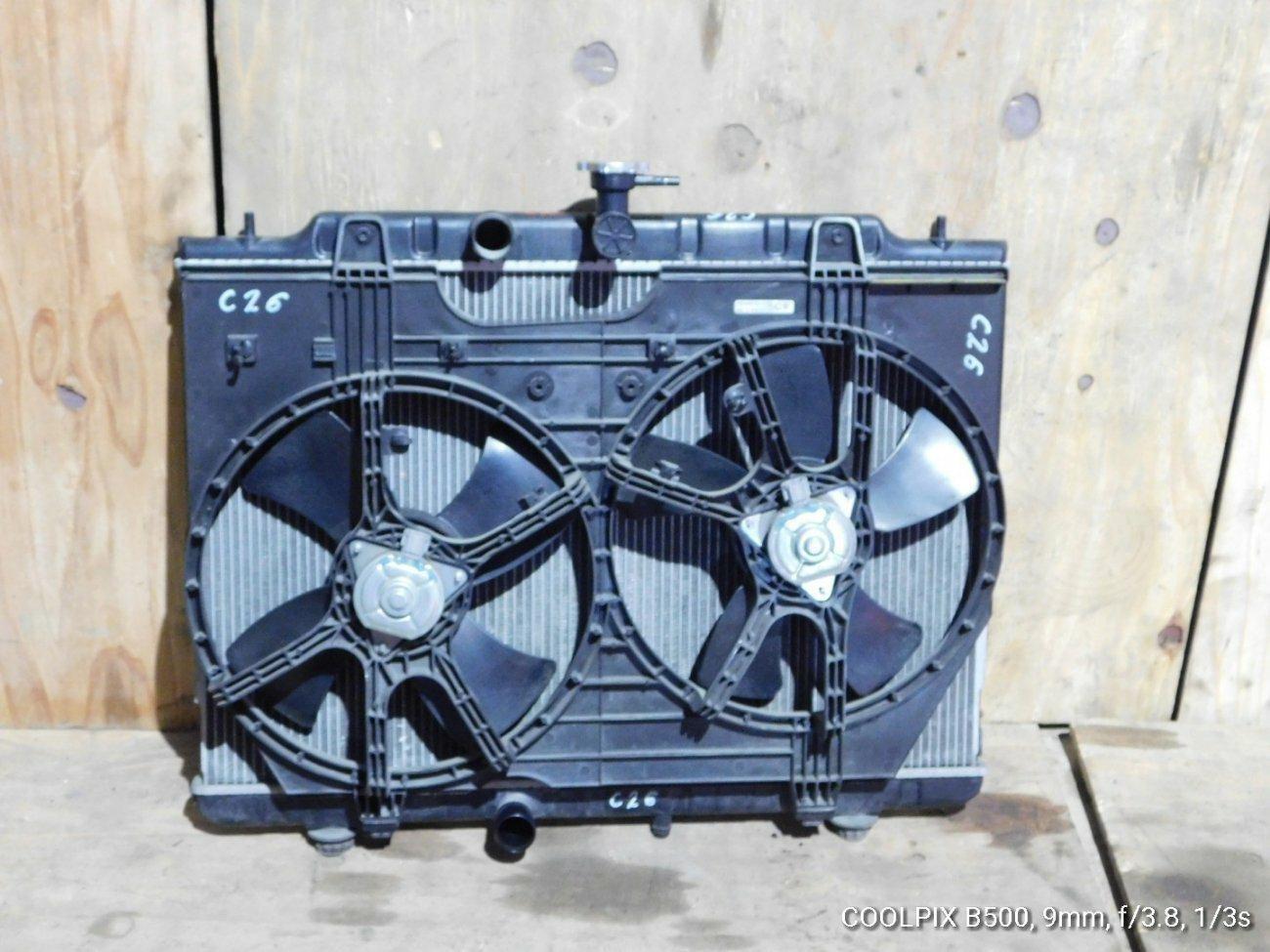 Радиатор основной Nissan Serena C26L MR20DE (б/у)