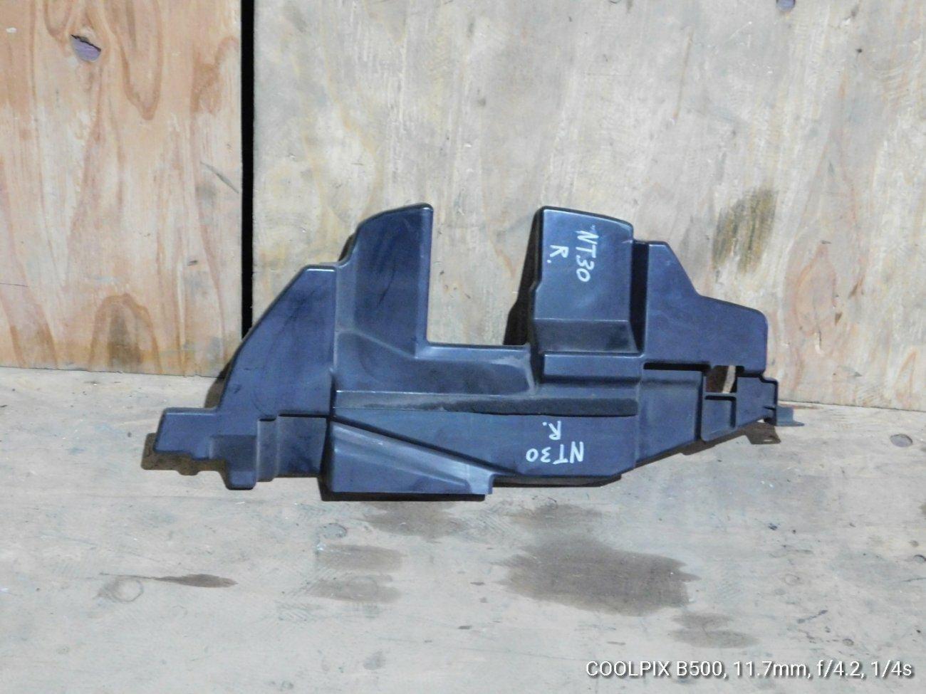 Защита радиатора Nissan X-Trail NT30 QR20DE передняя левая (б/у)