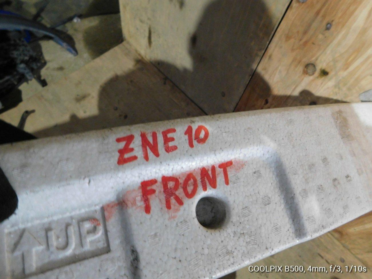 Жесткость бампера Toyota ZNE10 1ZZFE передний (б/у)