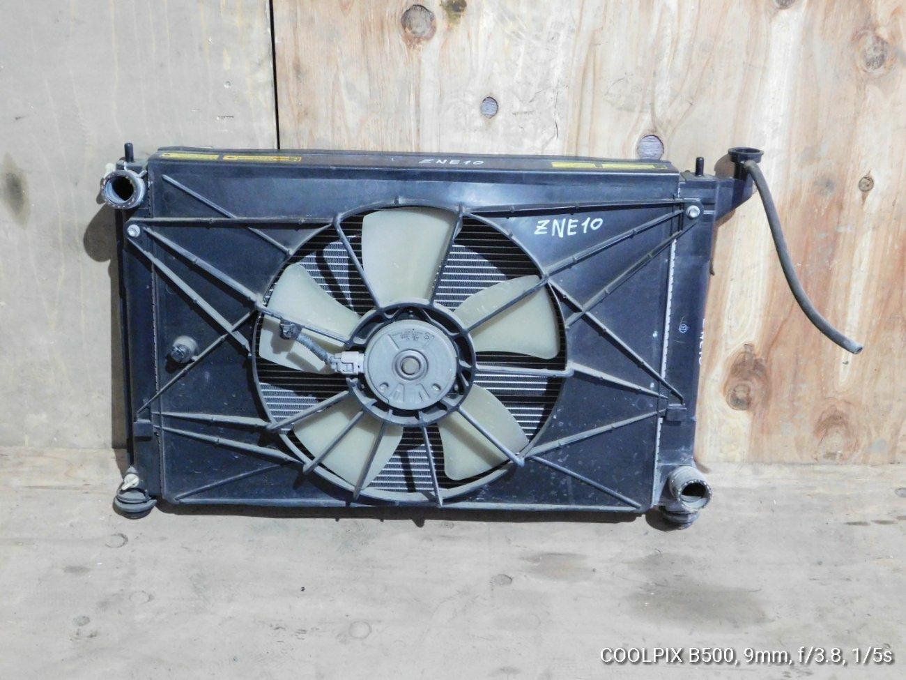 Радиатор основной Toyota Wish ZNE10 1ZZFE (б/у)