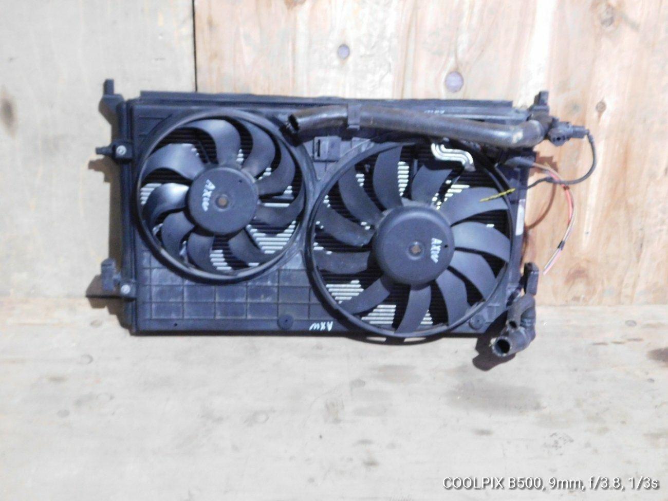 Радиатор основной Audi A3 AXW (б/у)