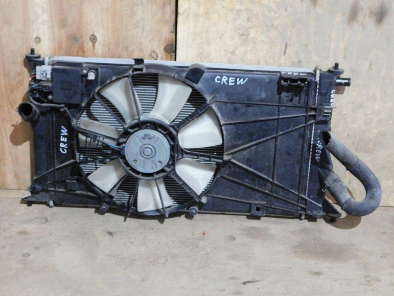Радиатор основной Mazda Premacy CREW LF (б/у)