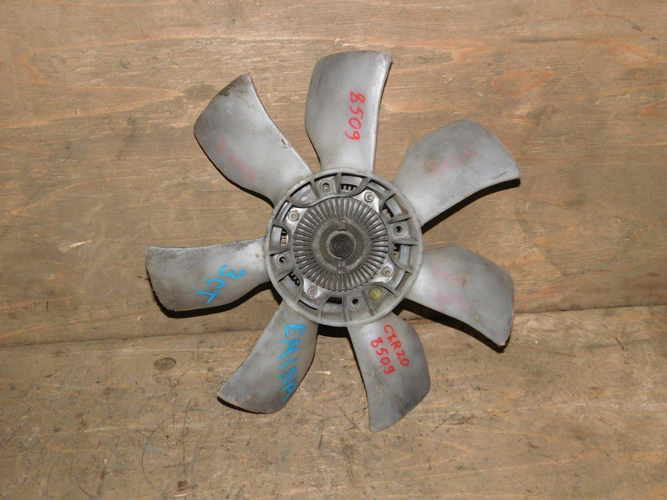 Вентилятор с вискомуфтой Toyota Estima CXR20 3CTE (б/у)