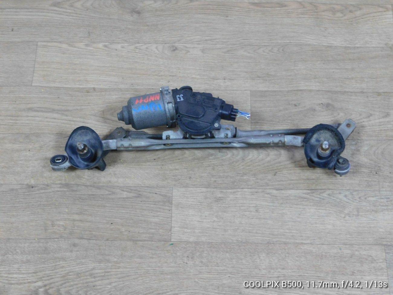 Мотор дворников Toyota Porte NNP10 1NZFE (б/у)
