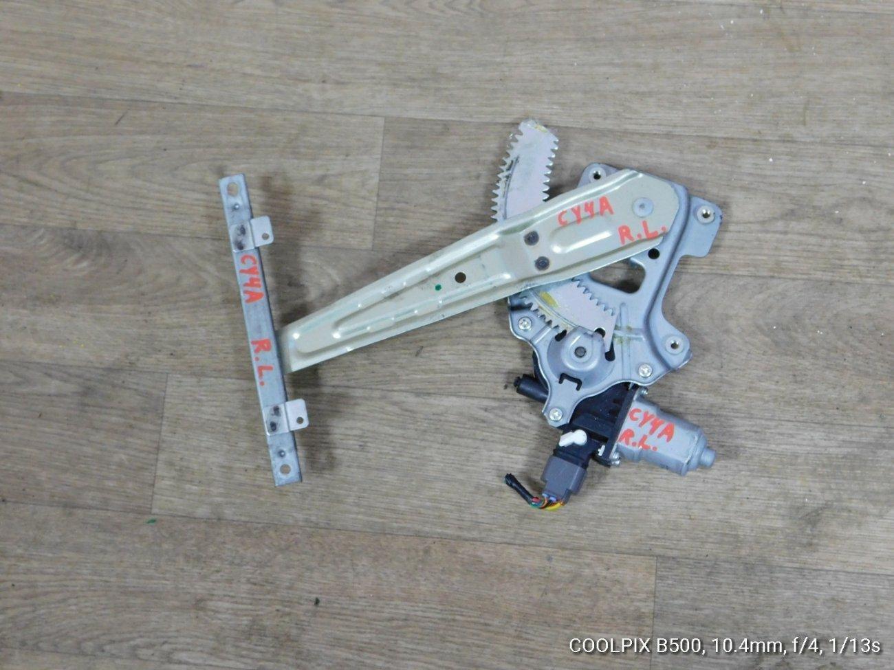 Стеклоподъемник Mitsubishi Galant Fortis .lancer X CY4A 4B11 задний левый (б/у)