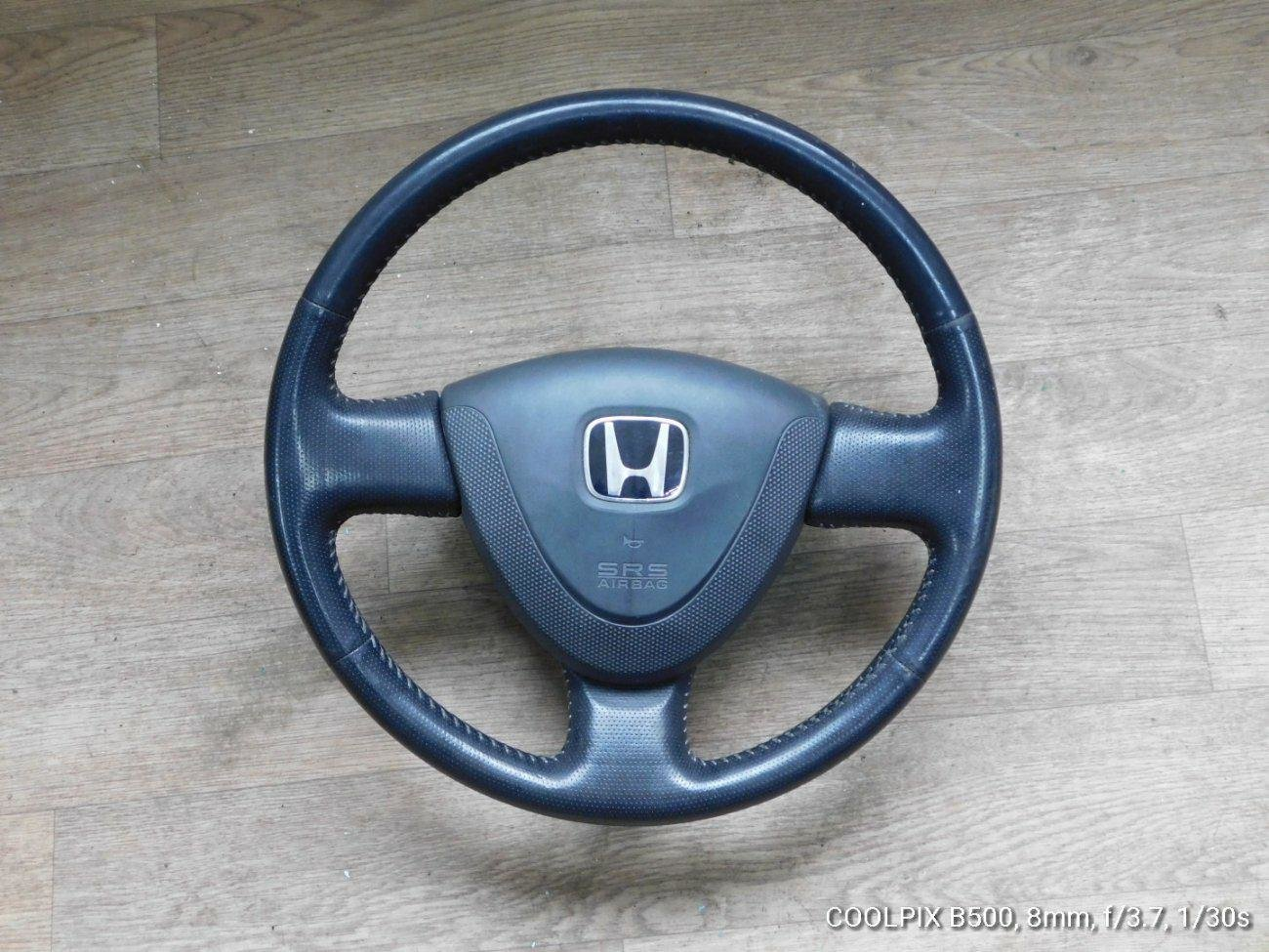 Руль Honda Fit GD1GD2GD3 L13A (б/у)