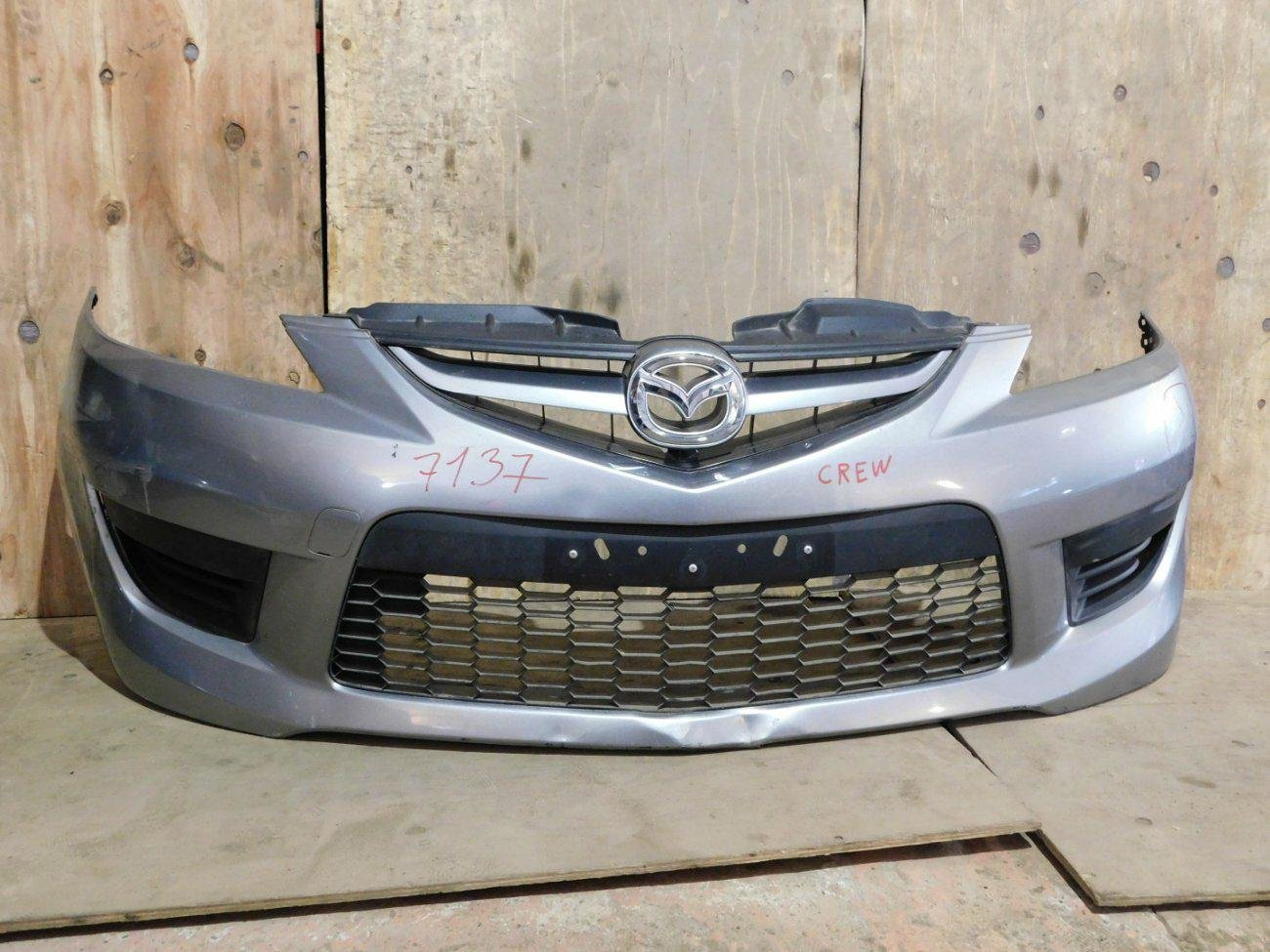 Бампер Mazda Premacy CREW LF передний (б/у)