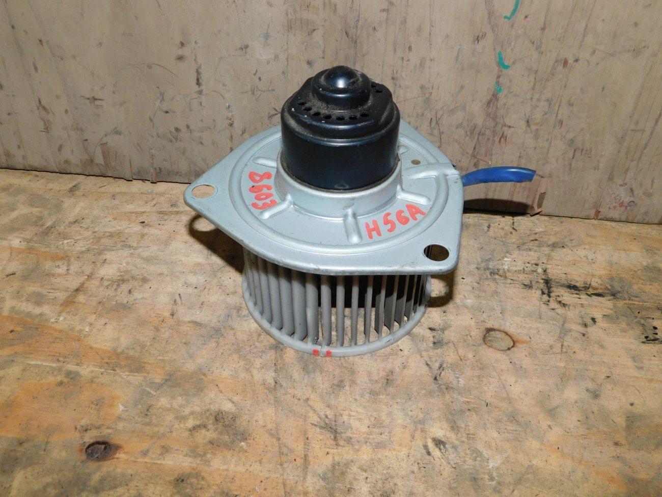 Мотор печки Mitsubishi Pajero Mini H56A 4A30 (б/у)