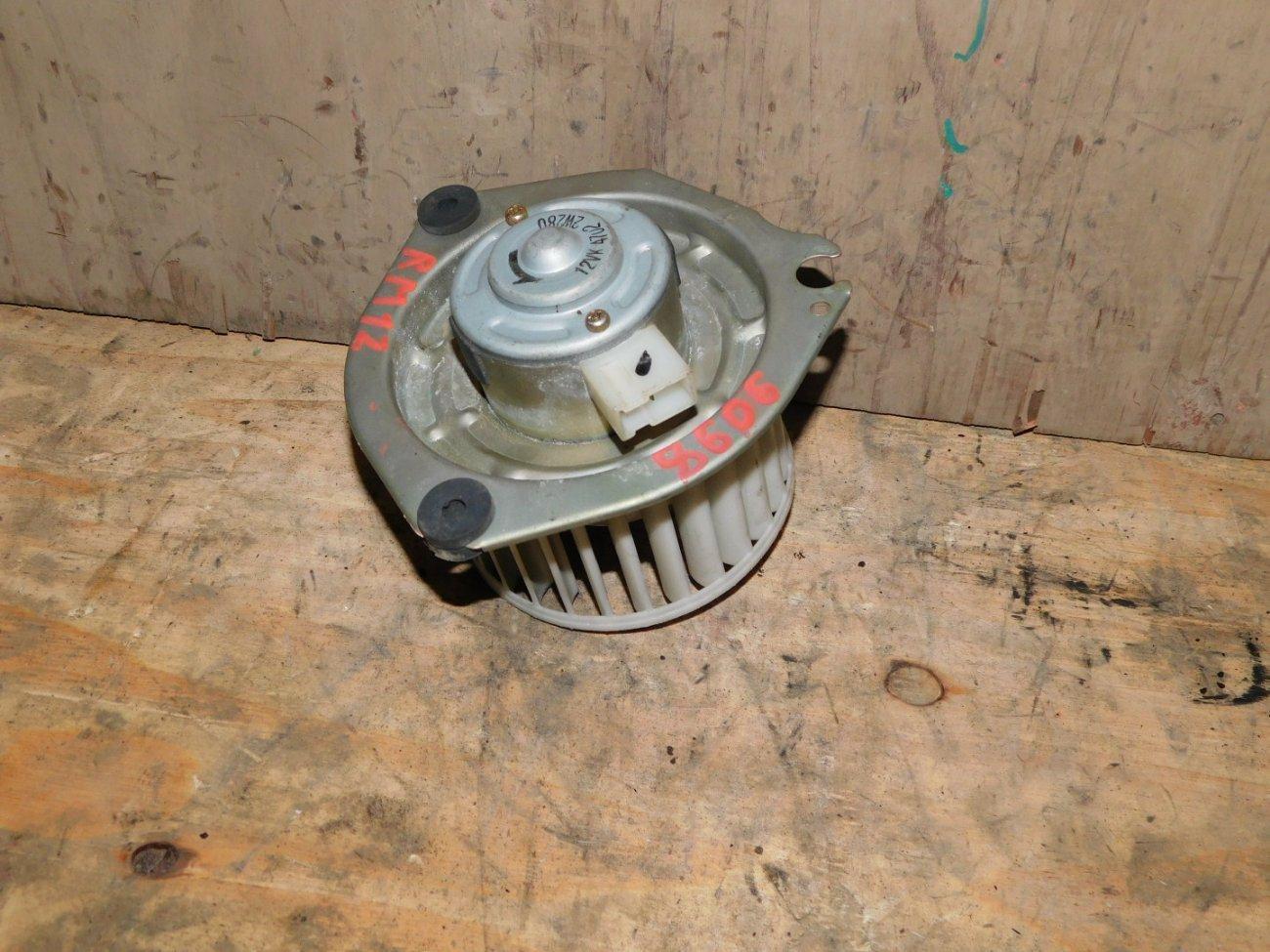 Мотор печки Nissan Liberty RM12 QR20DE задний (б/у)