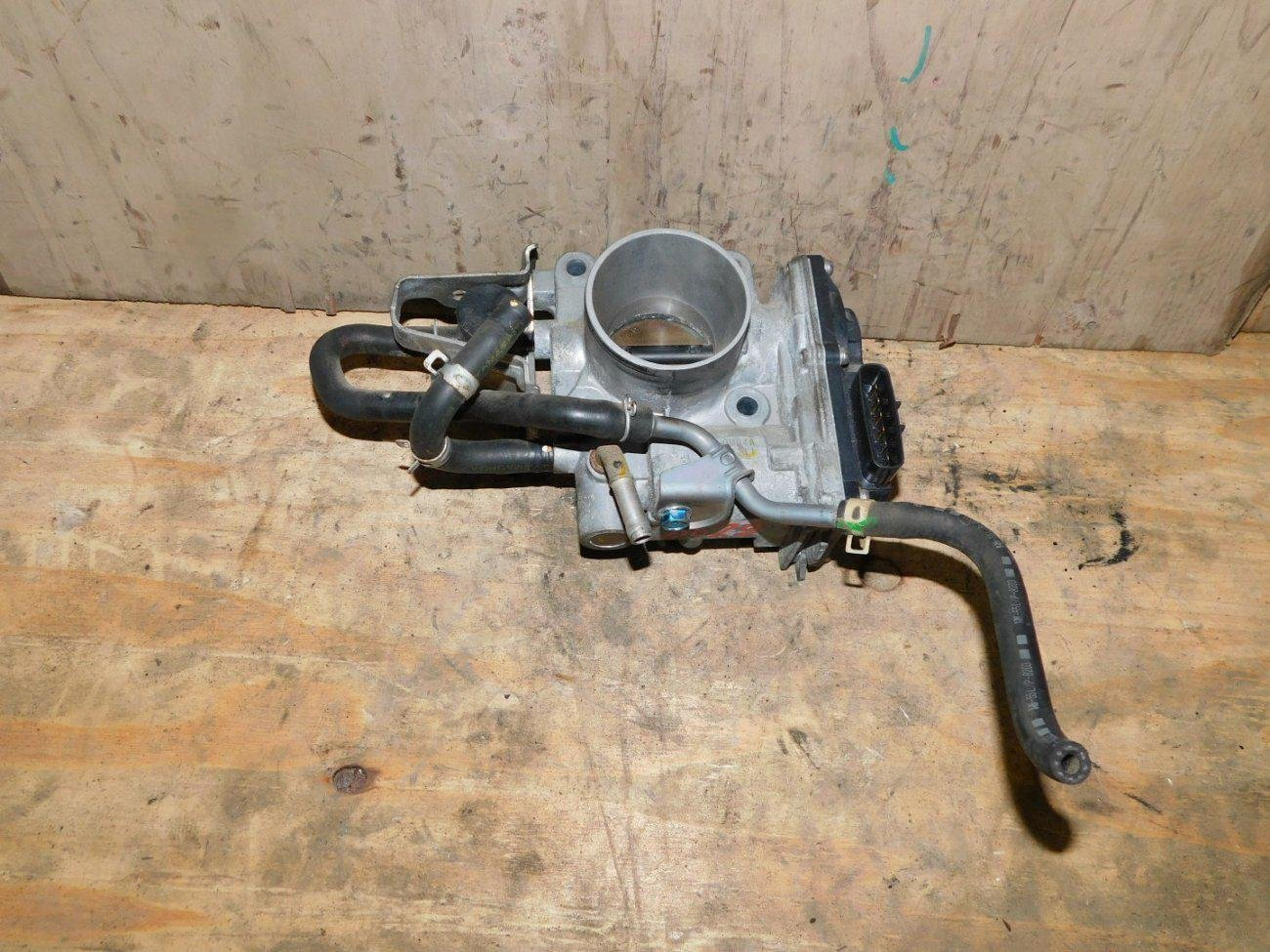 Дроссельная заслонка Honda Fit GE6 L13A (б/у)