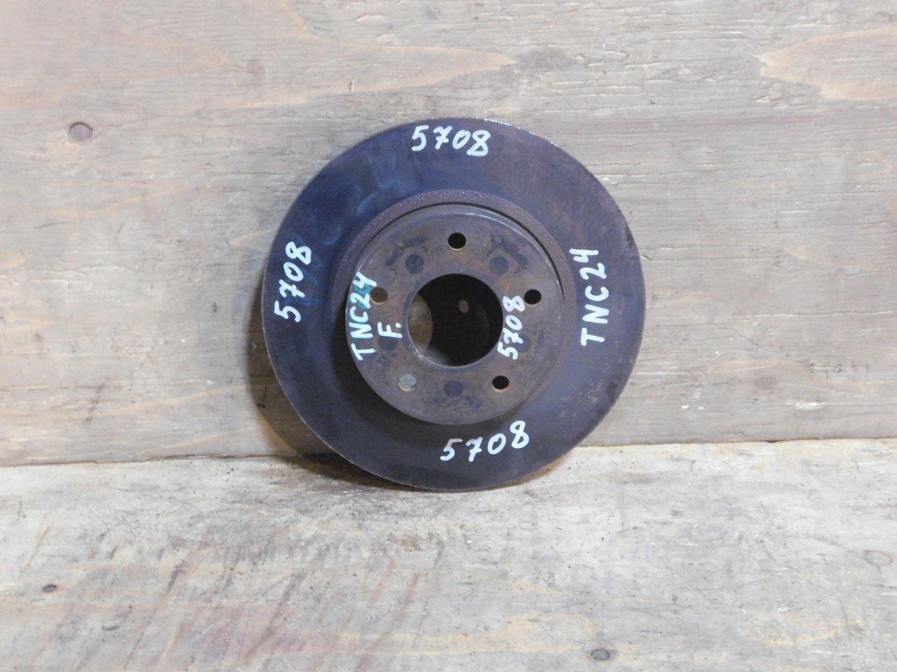 Тормозной диск Nissan Serena TNC24 KA24DE передний (б/у)