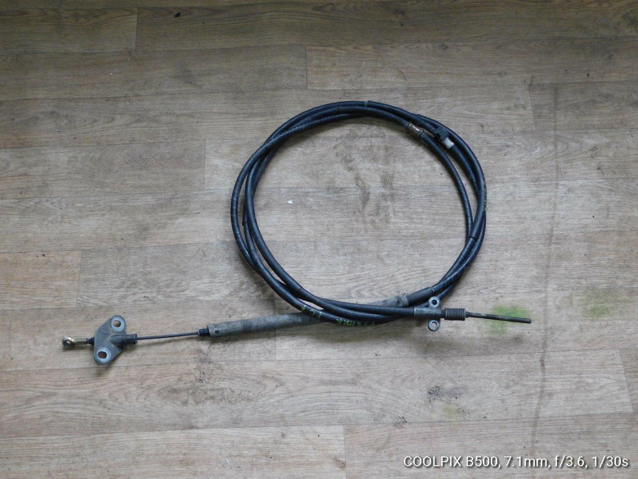 Тросик ручника Hino Ranger FC7 J07E (б/у)