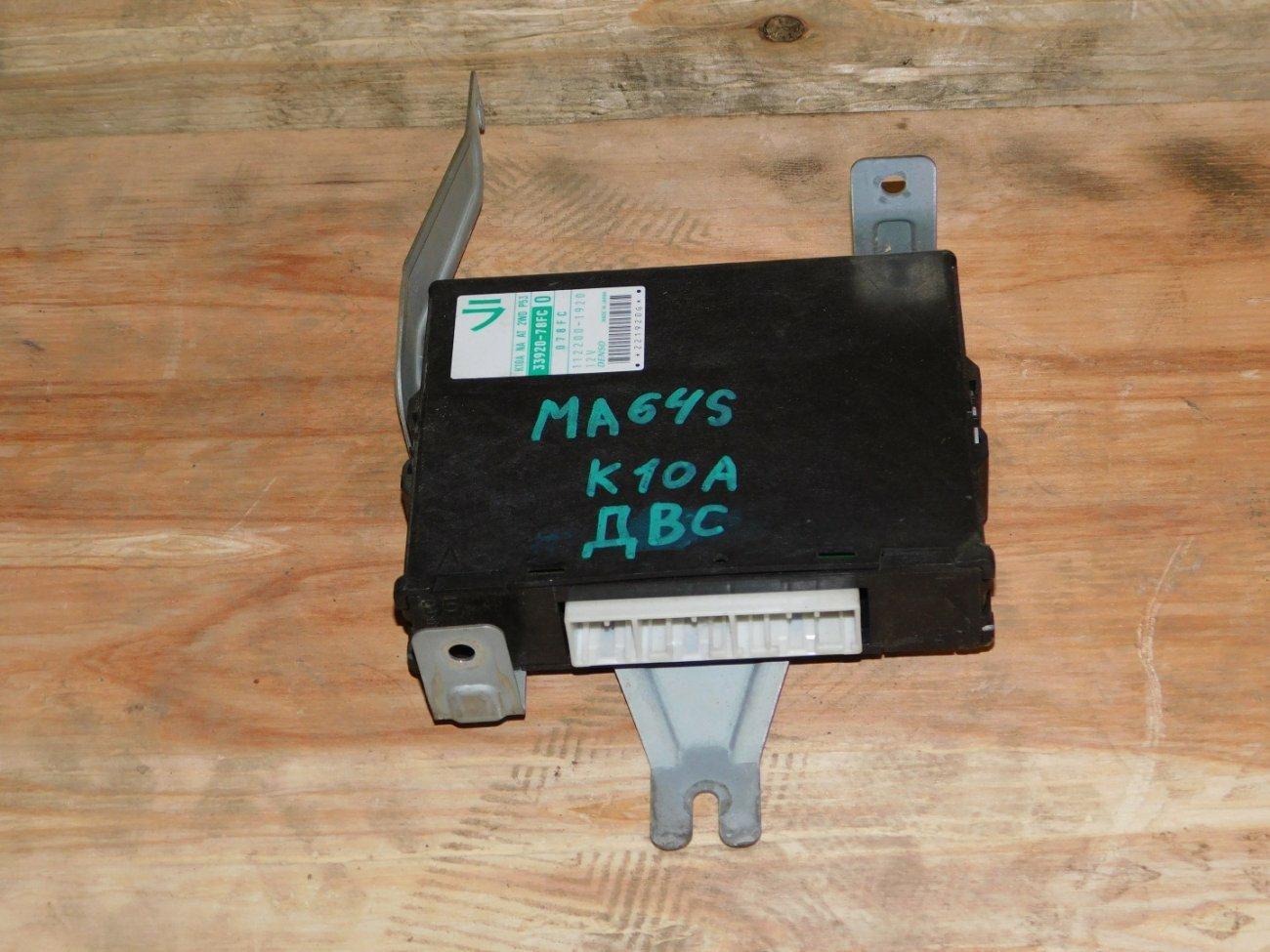 Блок управления efi Suzuki Wagon R Solio MA64S K10A (б/у)
