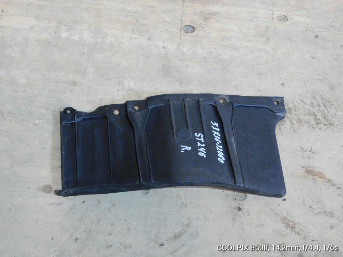 Защита двигателя Toyota Caldina ACT10 1NZFE передняя левая (б/у)