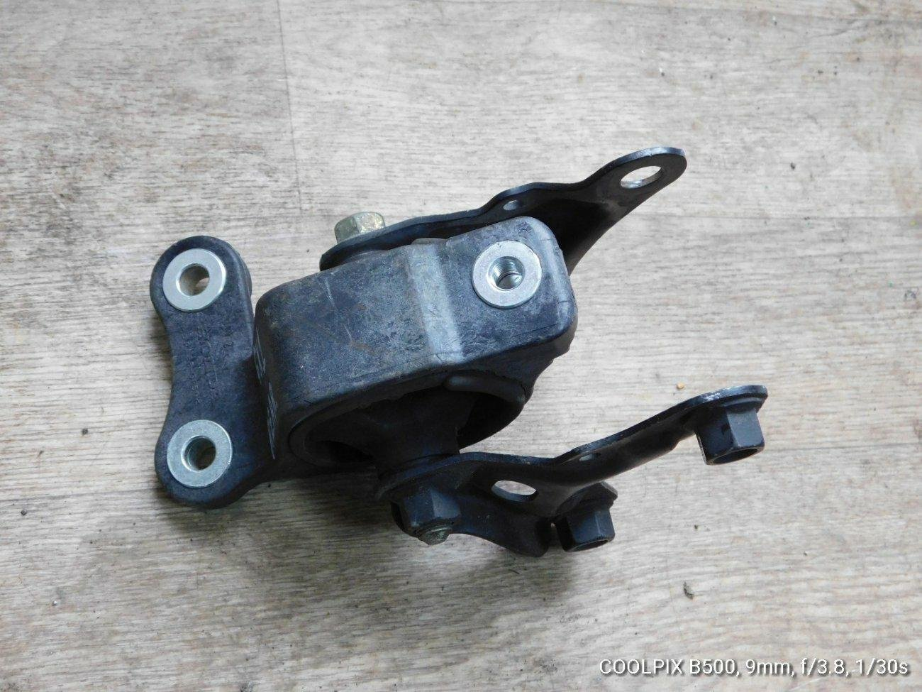 Подушка двигателя Honda Mobilio Spike GK1 L15A задняя (б/у)