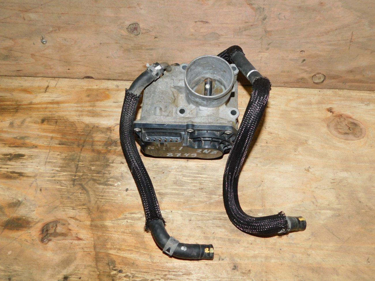 Дроссельная заслонка Toyota Vitz NCP91 2NZFE (б/у)