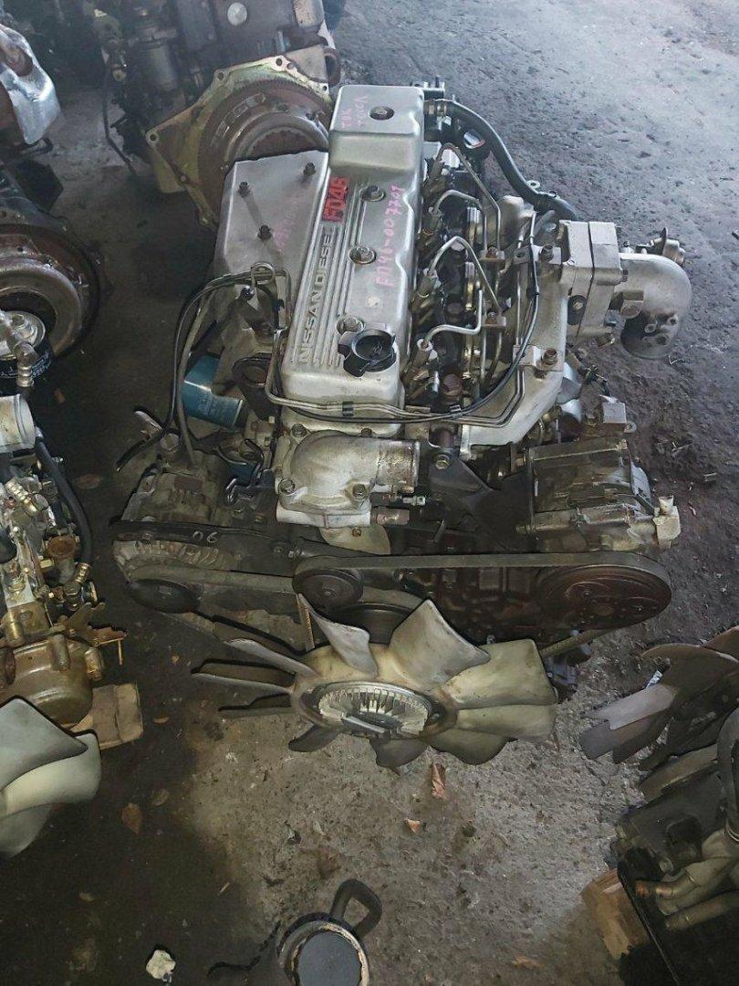 Двигатель Nissan Atlas G4H41 FD46 (б/у)