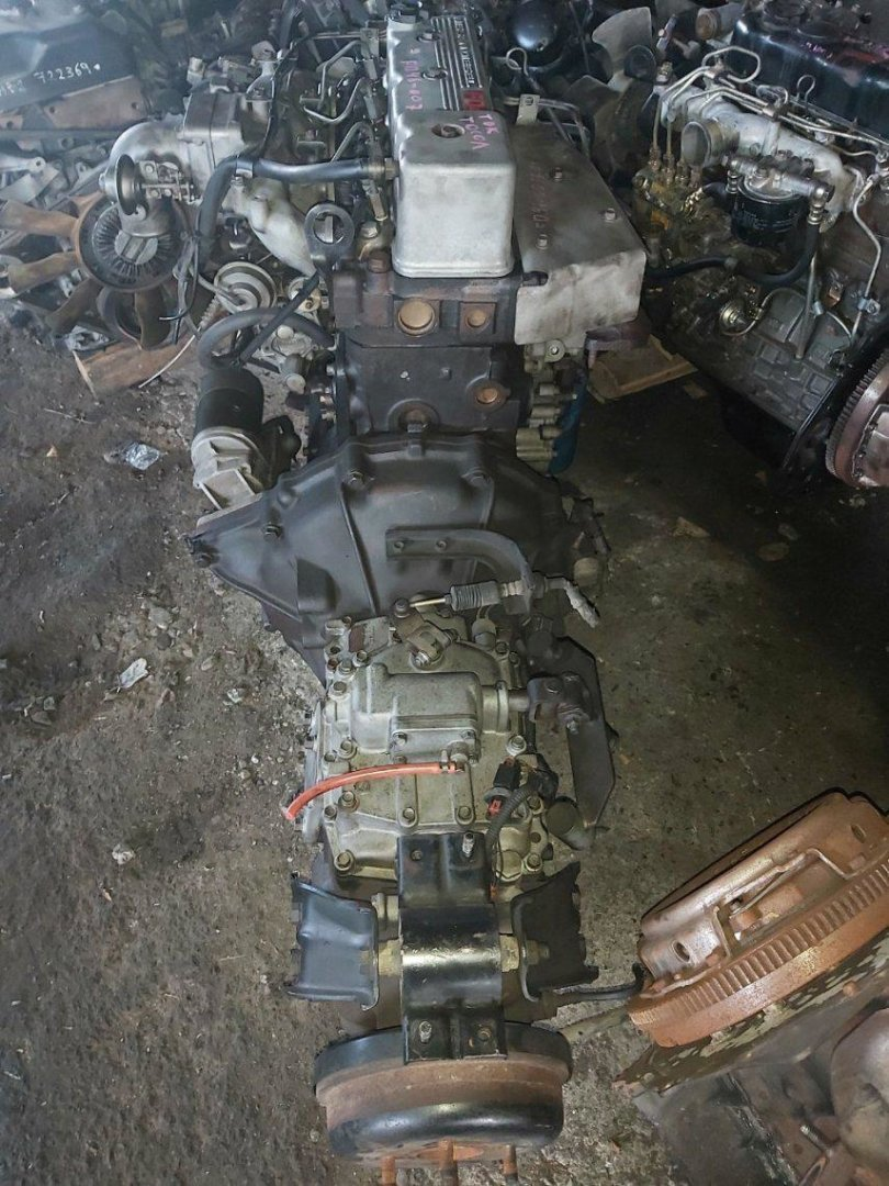 Мкпп Nissan Atlas G4H41 FD46 (б/у)