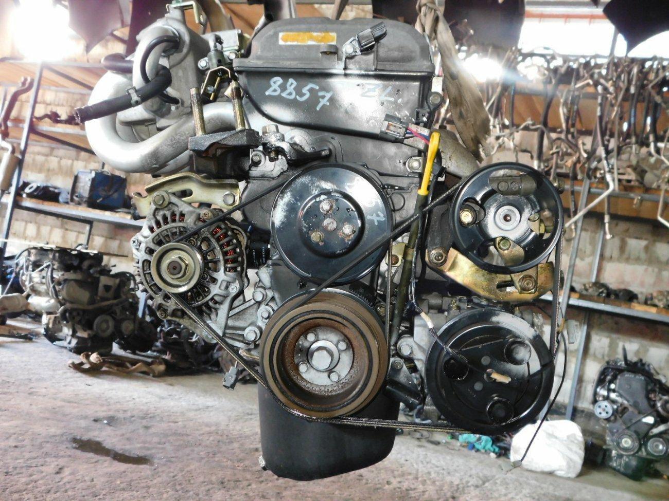 Двигатель Mazda Familia BJ5W ZL (б/у)