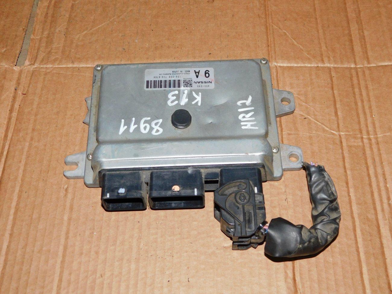 Блок управления efi Nissan March K13 HR12DE (б/у)