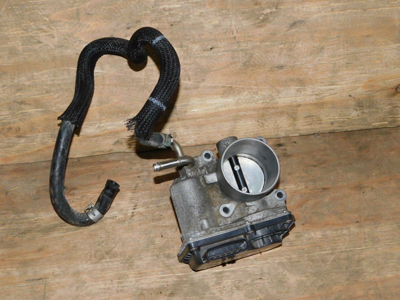 Дроссельная заслонка Toyota Vitz NSP130 1NRFE (б/у)