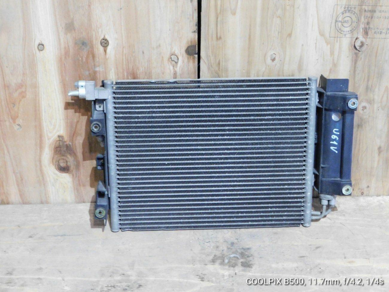 Радиатор кондиционера Mitsubishi Minica.minicab.toppo Bj U61V 3G83 (б/у)