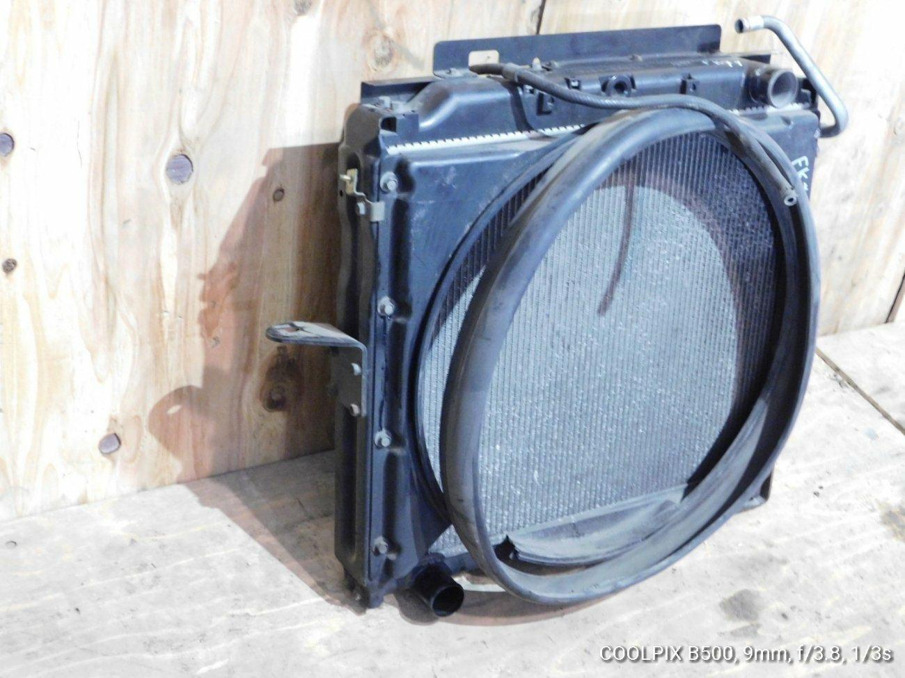 Радиатор основной Mitsubishi Canter Fuso FK71 4M50T (б/у)