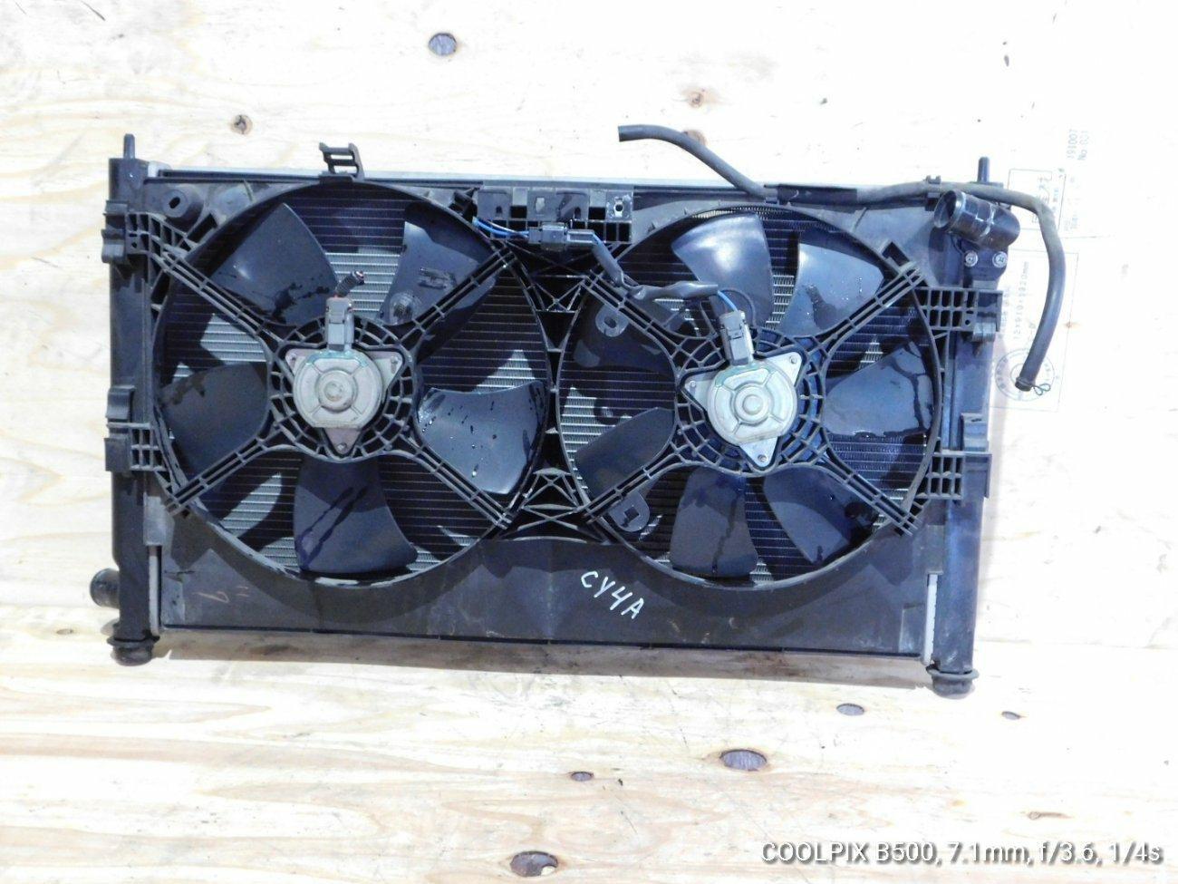 Радиатор основной Mitsubishi Galant Fortis .lancer X CY4A 4B11 (б/у)
