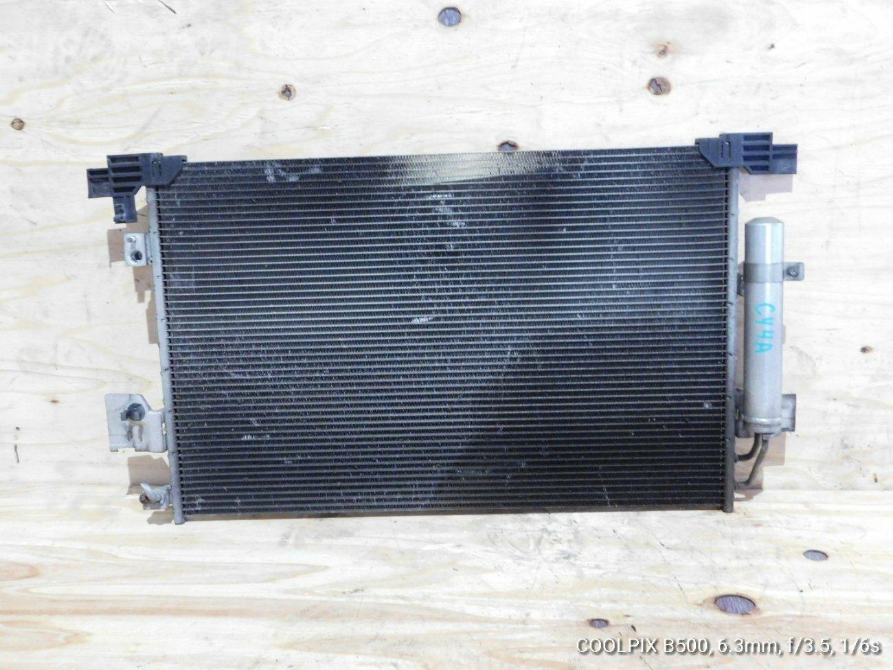 Радиатор кондиционера Mitsubishi Galant Fortis .lancer X CY4A 4B11 (б/у)