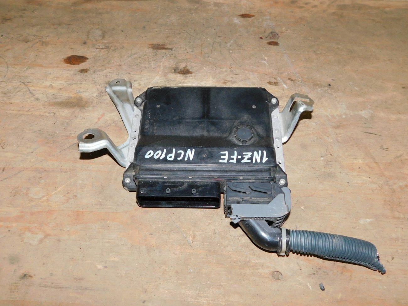 Блок управления efi Toyota Ractis NCP100 1NZFE (б/у)