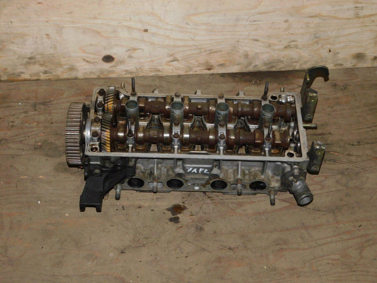 Головка блока цилиндров Toyota 7AFE (б/у)