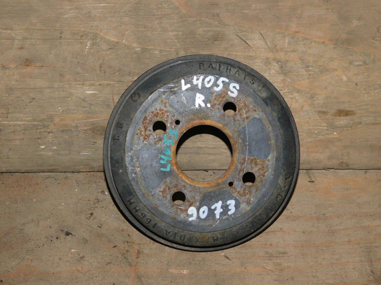 Тормозной барабан Daihatsu Sonica L405S KFDET задний (б/у)
