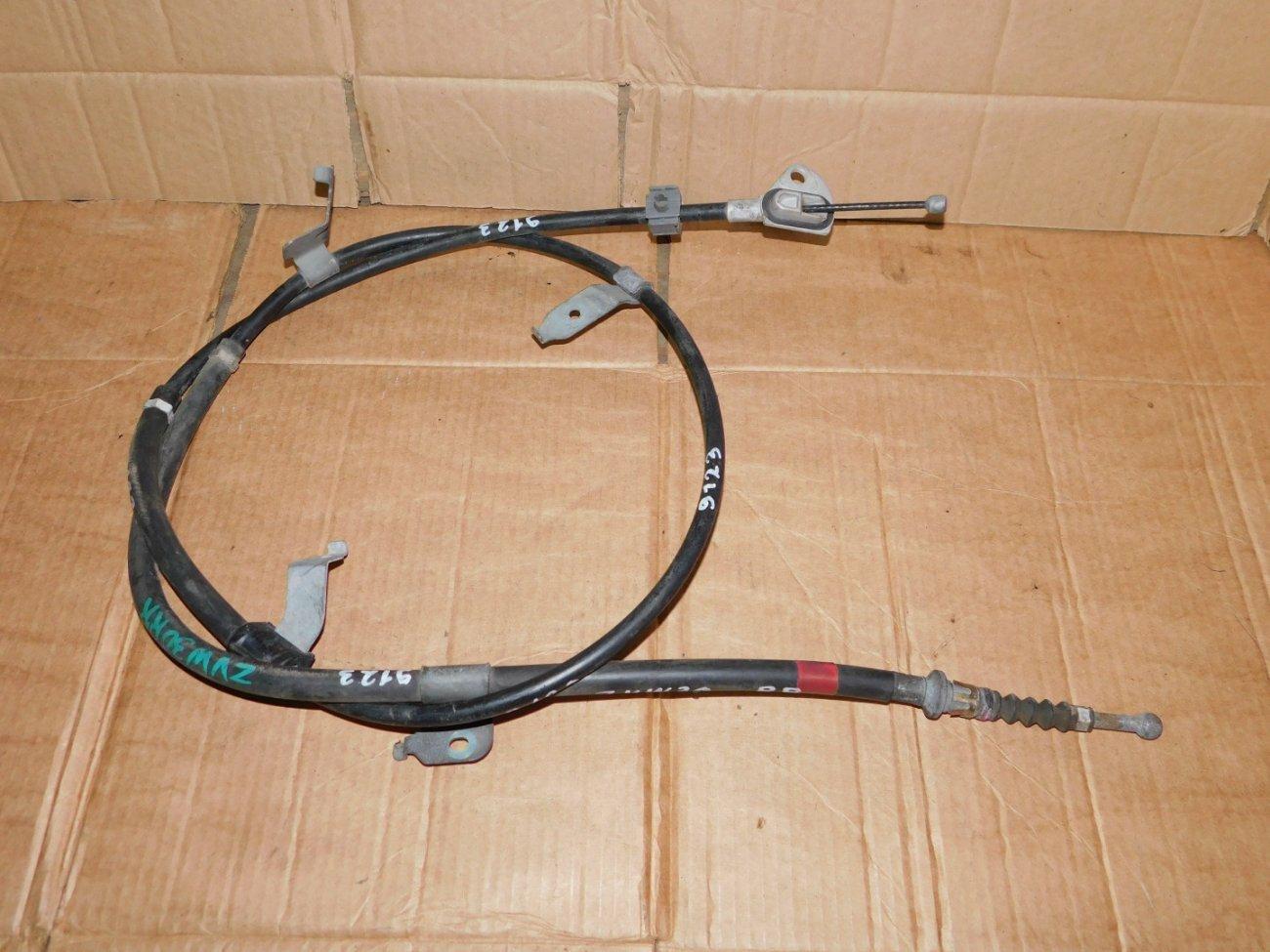 Тросик ручника Toyota Prius ZVW30 2ZRFXE задний правый (б/у)