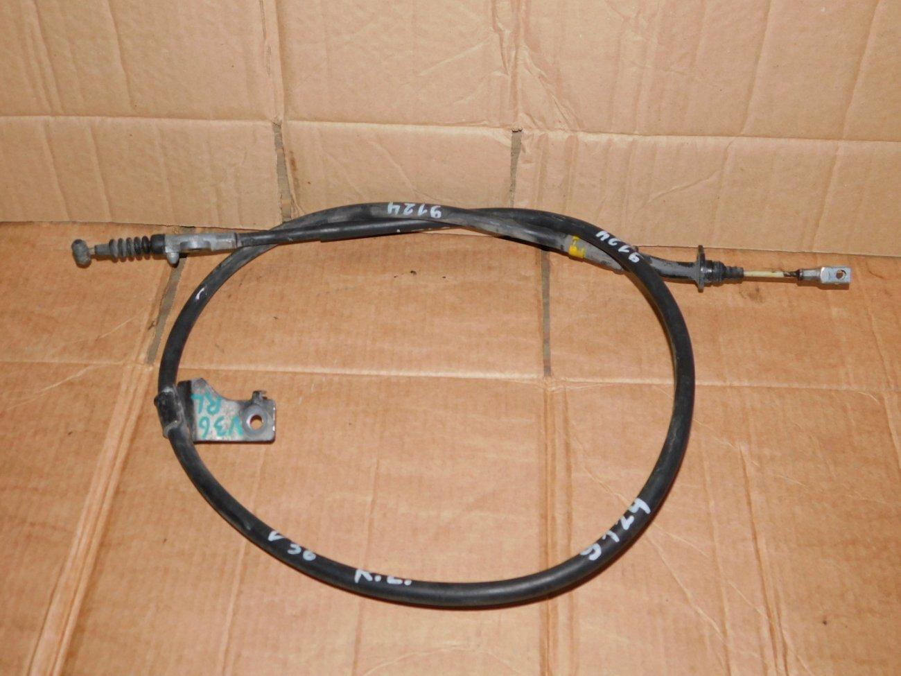 Тросик ручника Nissan Skyline V36 VQ25HR задний левый (б/у)