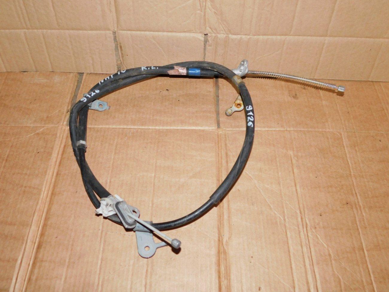 Тросик ручника Toyota Aqua NHP10 1NZFXE задний левый (б/у)