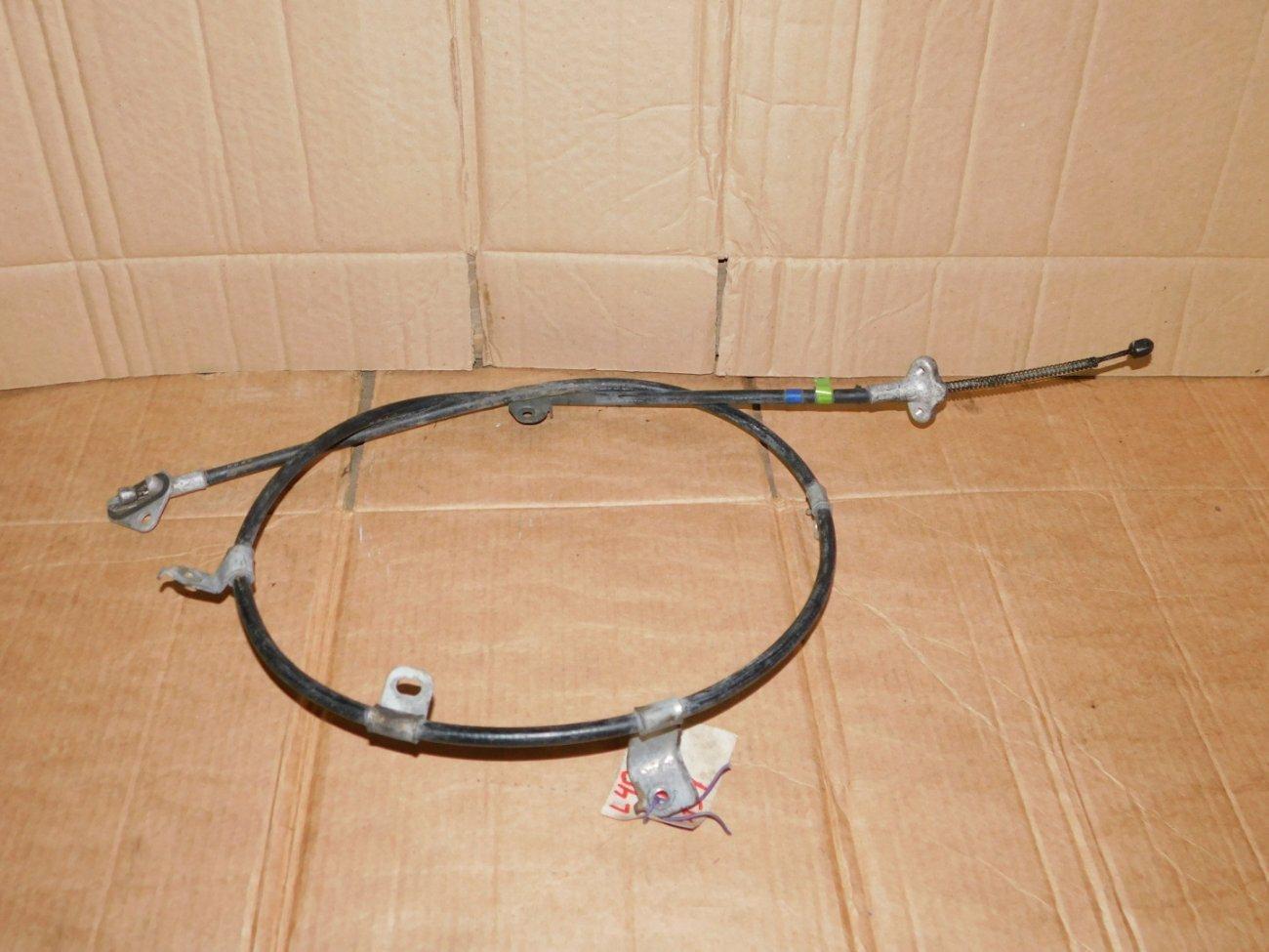 Тросик ручника Daihatsu Sonica L405S KFDET задний левый (б/у)