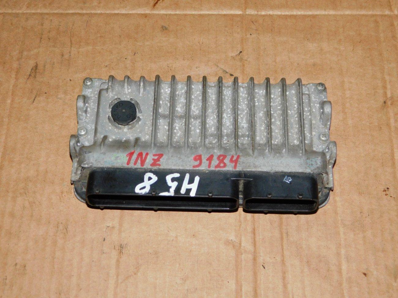 Блок управления efi Toyota Corolla Axio NZE161 1NZFE (б/у)