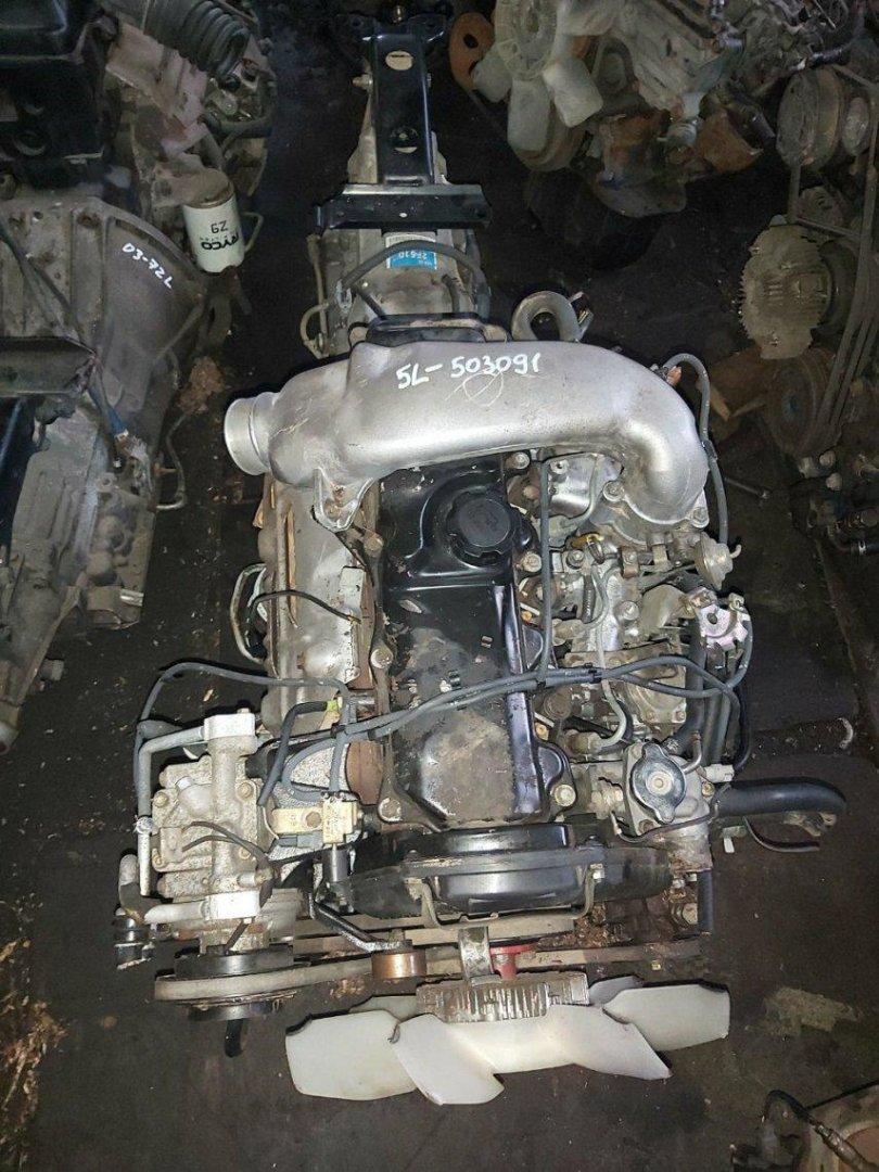 Двигатель Toyota Hiace LH100 3L (б/у)
