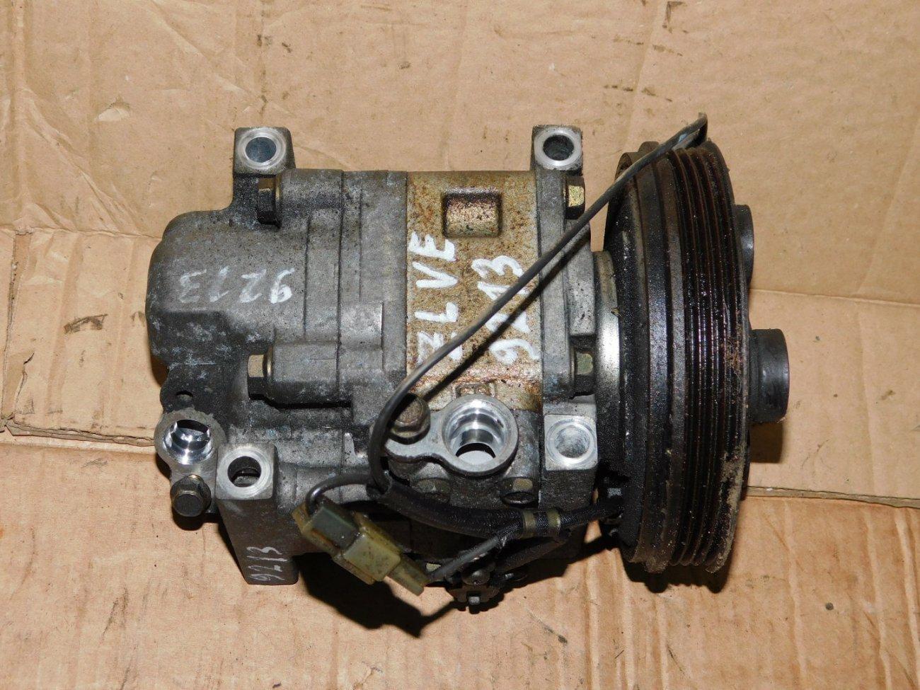 Компрессор кондиционера Mazda Familia BJ5W ZLVE (б/у)