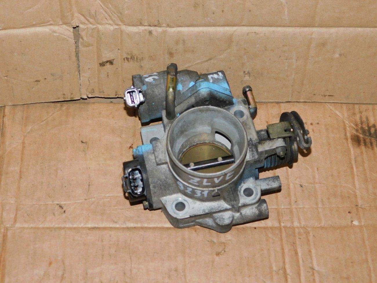 Дроссельная заслонка Mazda Familia BJ5W ZLVE (б/у)