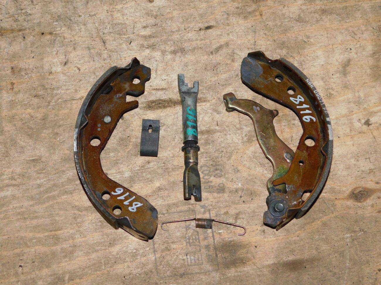 Тормозные колодки Honda Fit GD1 L13A (б/у)