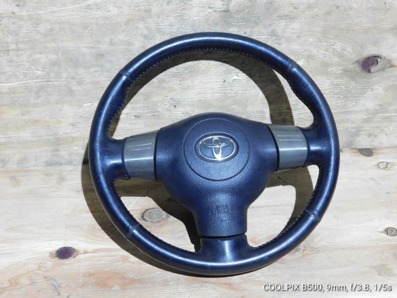 Руль Toyota Wish ZNE14 1ZZFE (б/у)