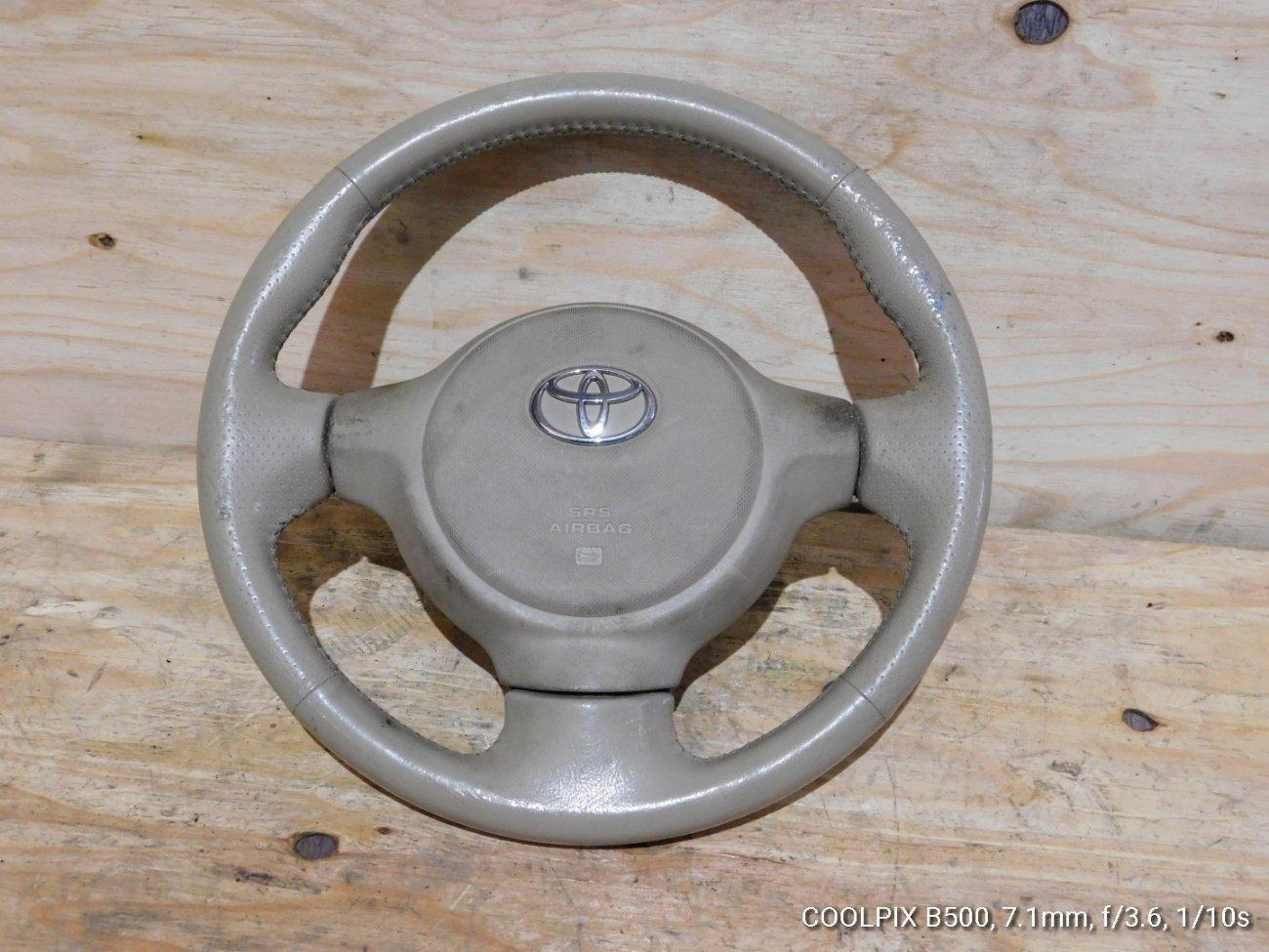 Руль с airbag Toyota Porte NNP10 (б/у)