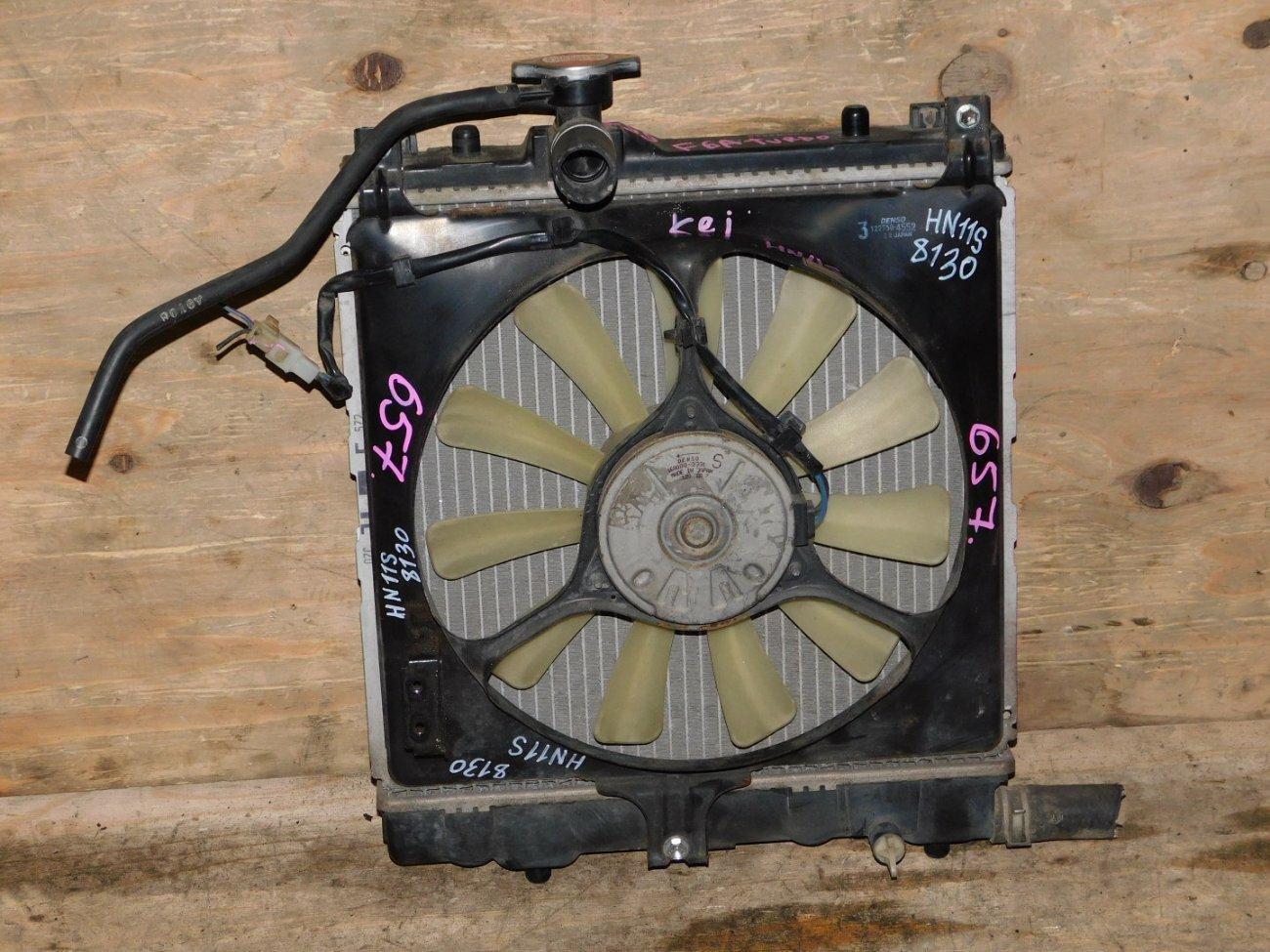Радиатор основной Suzuki Kei HN11S F6A (б/у)