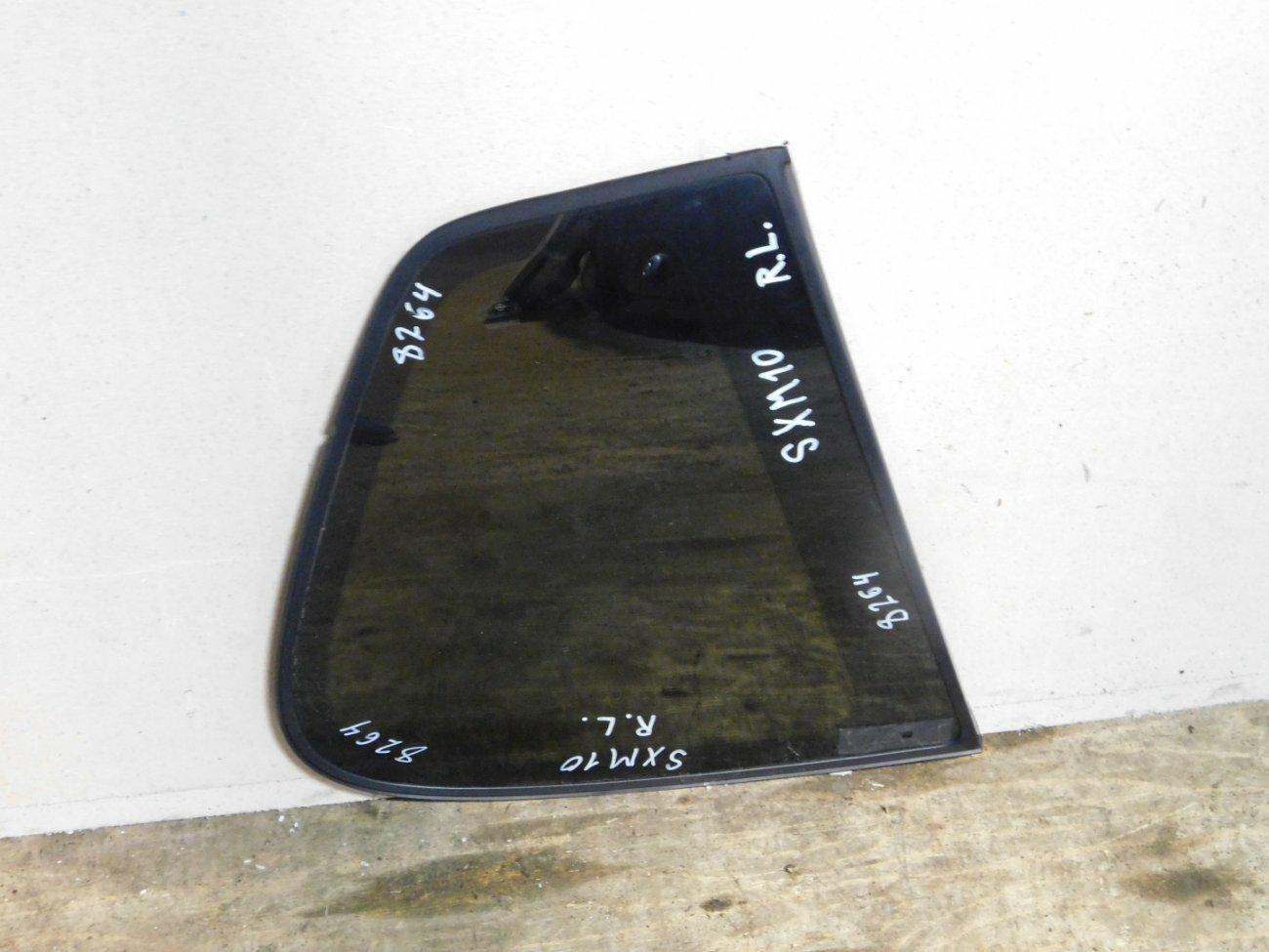 Стекло собачника Toyota Ipsum SXM10 3SFE заднее левое (б/у)
