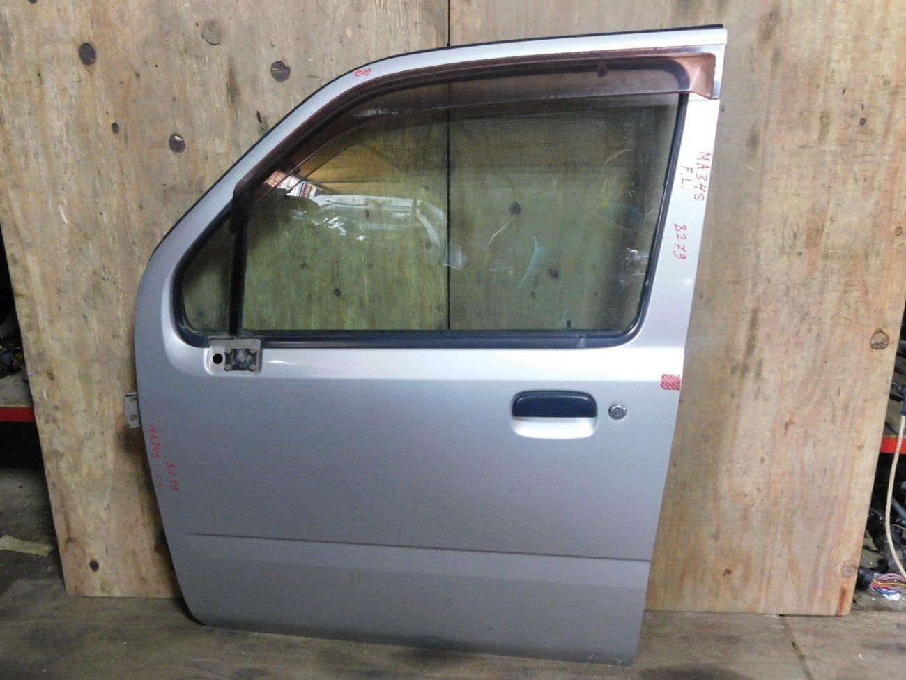 Дверь Suzuki Wagon R Solio MA34S M13A передняя левая (б/у)